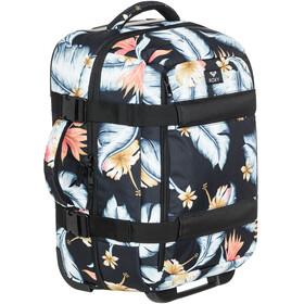 Roxy Wheelie 2 Suitcase Anthracite Tropical Love S